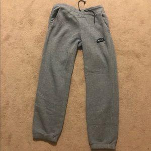 New Nike Gray Sweatpants